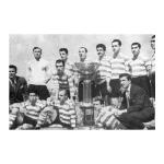 1953 – Celebração do 2º tri-Campeonato do Futebol leonino