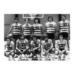 """1978 – Conquista da Taça de Portugal e """"dobradinha"""" no Basquetebol"""