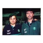 2001 – Campeões Nacionais de Futsal, na despedida de Orlando Duarte