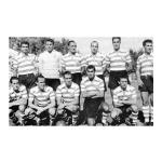 O 1º jogo da História da Taça dos Campeões Europeus de Futebol