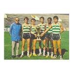 1982 – Campeões Europeus de Crosse após despique com o Barcelona