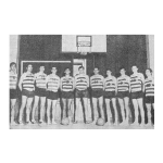 1969 – Campeões Nacionais de Basquetebol numa competição intensa