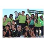 2014 – Campeãs nacionais de Atletismo em pista com domínio total