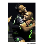 Futebol - Tondela-1 Sporting-4