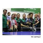 Ténis de Mesa - CTM Mirandela-2 Sporting-3 - Campeãs nacionais, 27 anos depois!