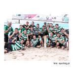 Futebol de Praia - Sporting-6 CB Loures-3 - Somos campeões nacionais!