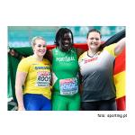 Atletismo - Auriol Dongmo é campeã europeia no lançamento do peso!