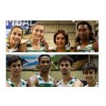 Atletismo - Campeões Nacionais de Pista coberta em ambos os sexos!